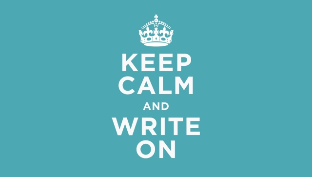 Keep Calm and Write On 3
