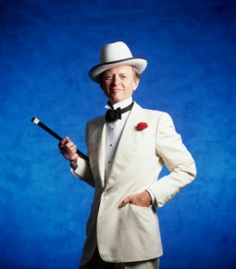 Tom Wolfe, off to prom, or something.