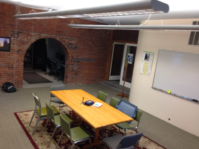 The location of our Wednesday workshops at 12 North Street in the Old North End of Burlington