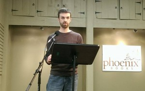 """Paul Hobday, fiction editor, reads his story, """"Youth Day"""""""